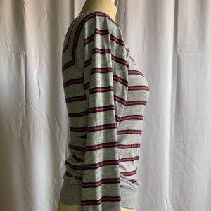 Lacoste Tops - Vintage Izod Lacoste Striped Long Sleeve